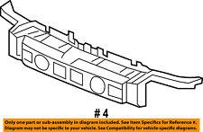 Jeep CHRYSLER OEM 06-10 Commander FRONT BUMPER-Reinforcement Bracket 55156974AF
