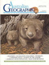 WOMBATS Australian Geographic Number 30 April - June 1993 **GOOD COPY**