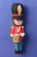 Hallmark PIN Christmas Vintage DRUMMER Boy CLOTHESPIN SOLDIER Holiday Brooch