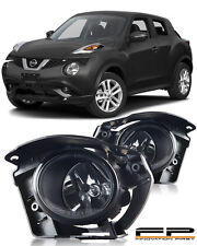For 2014 2015 2016 2017 Nissan Juke Clear Lens Fog Light Full Kit Swith+Harness