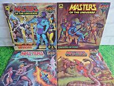 He-man Amos Del Universo De Oro Comics Aventura Super Lote De 4