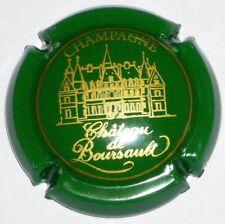 Capsule de Champagne: Promo !!!  CHATEAU DE BOURSAULT , n°17 , vert et or !