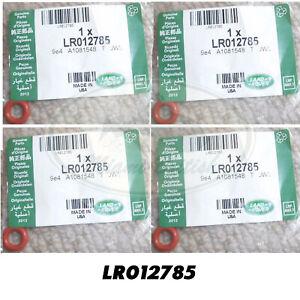 LAND ROVER FUEL INJECTOR SEAL UPPER SET x4 RANGE LR3 RR SPORT 06-09 LR012785 OEM