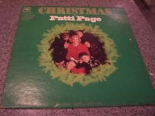 "Patti Page ""Christmas"" COLUMBIA MONO LP #CL-2414"