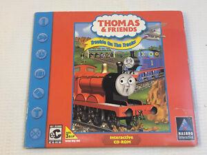 Thomas & And Friends Trouble on the Tracks PC Cd Rom 2000 Windows 95 98 Cib