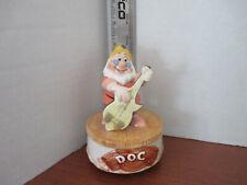Schmid~Disney's Musical Snow White's Doc Revolving Figurine~Heigh Ho