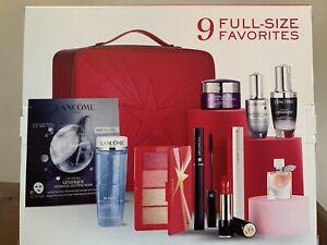 Lancome Holiday 2021 Beauty Box 11 Piece Gift Set Full Size 440 Value