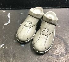 Sideshow 1/6 Star Wars Clone Wars Trooper pair of Boots Shoes (no pegs)  - #1