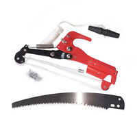 Extendable Tree Pruner Garden Tool Pole Saw Branch Limb Pruning Blade Cutter