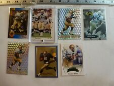 7 Various Jerome Bettis Rookie/College Cards Notre Dame Fighting Irish
