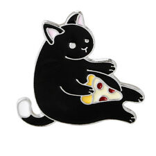 1Pc Cartoon lovely Super Cute Cat Corsage Collar Metal Brooch Pins Jewelry