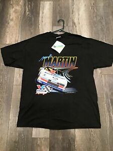 Vintage Mark Martin 1993 Single Stitch T-shirt Adult XL New With Tags Fast Ship