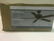 Farmington 52 in. Indoor Oil-Rubbed Bronze Ceiling Fan New