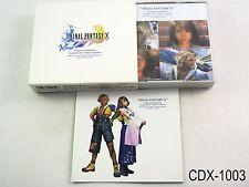 Final Fantasy X 10 Original Soundtrack Music CD 4CD Japan Import OST US Seller