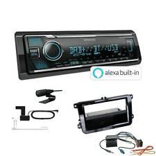 Kenwood Autoradio DAB Bluetooth für Volkswagen VW T5 Transporter ohne Canbus
