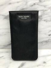 Kate Spade Eye Glass Case - Black satin