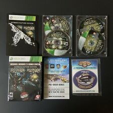 BioShock Ultimate Rapture Edition Microsoft Xbox 360 Video Game Complete Sticker