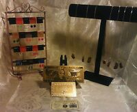 COLLECTION of GENUINE HUGE TIGER Eye GEMSTONE Necklace Kits+ GOLD$20 W/COA &MORE