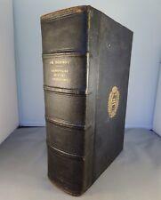 DEZOBRY / DICTIONNAIRE PRATIQUE ET CRITIQUE DE L'ART EPISTOLAIRE 1866 DELAGRAVE