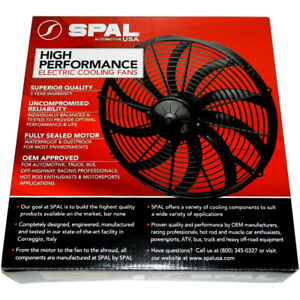 Spal 30100400 Puller Fan 16In Straight Blade Low Profile Fan - 1298cfm