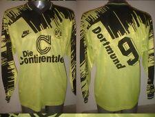 "Borussia Dortmund 1992 Adulto Xl 44"" Camiseta Jersey Trikot Fútbol Vintage"