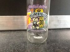 flintstones drinking glass going to the drive in