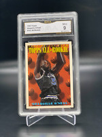 1993 Topps Shaquille O'neal RC All Rookie #152 GMA Graded 9 MINT