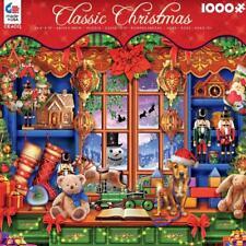 CEACO CLASSIC CHRISTMAS PUZZLE YE OLDE CHRISTMAS SHOPPE MARCHETTI 1000 #3372-14