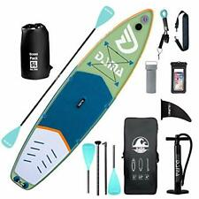 New listing DAMA Inflatable Stand Up Paddle Board 11'x33 x6, Inflatable Yoga Board, Dry Bags