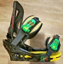 Burton 2015 Custom Re:Flex Snowboard Bindings Jamaica Fresh Mon Men Sz. Sm. New!