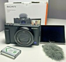 USED: Sony Cyber-shot ZV-1 20.1MP Compact Digital Vlog Camera