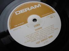 KEEF HARTLEY BAND OVERDOG LP 1971 UK DERAM 1ST SDL2 1U1C MOTHERS BROWN LABELS M-