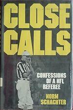 NORM SCHACHTER (NFL REFEREE) 1981 BOOK (SHULA, MADDEN, HALAS, LOMBARDI, LANDRY +
