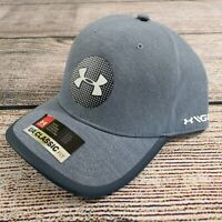 Under Armour Men's Heatgear Speedform Golf Cap Hat Blue White Large XL New