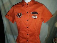 Harley-Davidson Shop Garage Shirt Patches Women's M