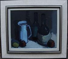 Ingvar Walterstroem 1920-1987, Natura morta con Bottiglie, a 1950/60