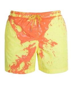 Men Summer Beach Sport Shorts Swimming Swimwear Trunks Board Pants Color Change