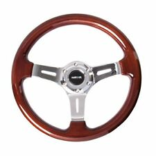 NRG ST-015-1CH Steering Wheel Classic Wood Grain 330mm
