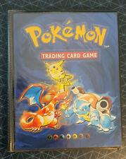 Pokemon Original Vintage Card Binder A5 Folder 1999 Wizards Of The Coast (8)