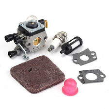 Carburetor Air Fuel Filter For Stihl FS38 FS45 FS46 FS55 HS45 FC55 KM55 FS85 etc