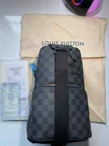 LOUIS VUITTON AVENUE SLING BAG MAN / Louis Vuitton авеню слинг сумка мужская