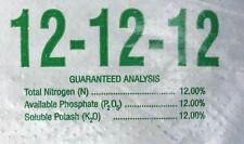10 lb Granular Fertilizer 12-12-12 Slow Release Perfect for Flowers & Vegetables