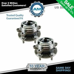 2 Front Wheel Bearing Hub Assembly fits Nissan Maxima Altima Murano Quest