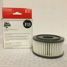 NEW DIRT DEVIL REPLACEMENT FILTER TYPE F15 QUICK VAC EXTREME QUICK VACUUM