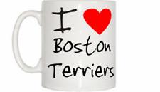 I love coeur Boston Terrier Mug