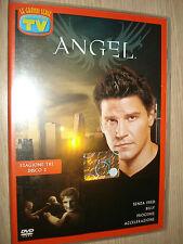DVD ANGEL TERZA 3 STAGIONE  DISCO 2 SERIE TV DAVID BOREANAZ CARPENTER