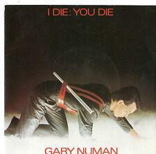 """Gary Numan - I Die You Die 7"""" Single 1980"""