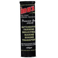 MARINE GREASE & EXTREME PRESSURE INOX MX8 400gm Cartrige Salt Water Resistant