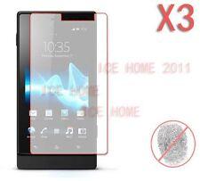 3X Matte Anti Glare Screen Protector For Sony Xperia Sola MT27i