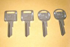 PONTIAC GRAND PRIX 1968 1972 1976 1980 KEY BLANKS CD (2 SETS)  OEM GM LOGO